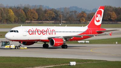 D-ABDK - Airbus A320-214 - Air Berlin
