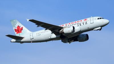 C-GBIA - Airbus A319-114 - Air Canada Jetz