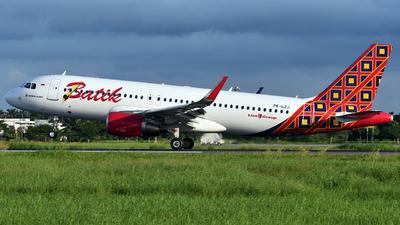 PK-LZJ - Airbus A320-214 - Batik Air