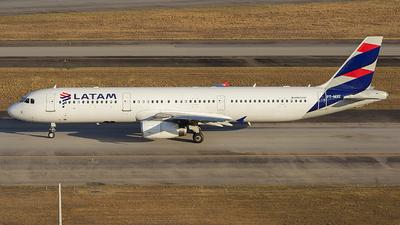 PT-MXE - Airbus A321-231 - TAM Linhas Aéreas