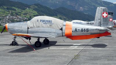 HB-RCQ - Pilatus P-3-05 - Private