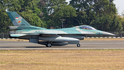 TS-1641 - Lockheed Martin F-16CJ Fighting Falcon - Indonesia - Air Force
