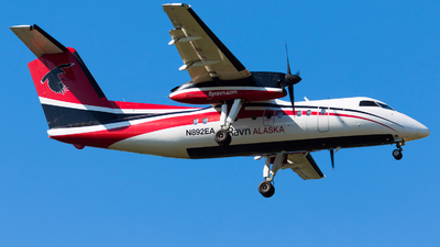 A picture of N892EA - De Havilland Canada Dash 8100 - Ravn Alaska - © Martin Rogosz