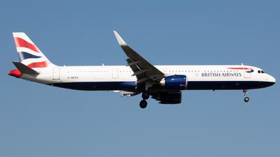 G-NEOU - Airbus A321-251NX - British Airways