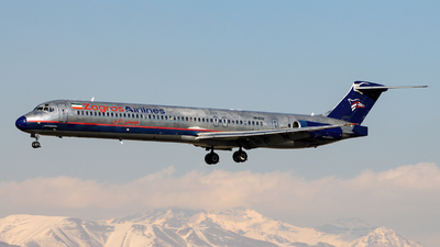 A picture of EPZAE - McDonnell Douglas MD82 - Zagros Airlines - © DARA ZARBAF