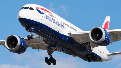 G-ZBJC - Boeing 787-8 Dreamliner - British Airways
