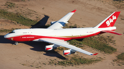 A picture of N744ST - Boeing 747446(BCF) - [25308] - © XueQing