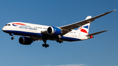 G-ZBJA - Boeing 787-8 Dreamliner - British Airways