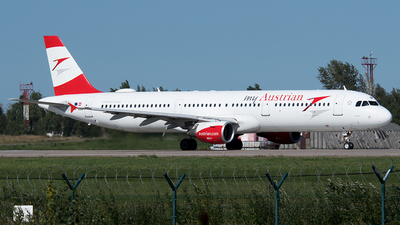 A picture of OELBC - Airbus A321111 - Austrian Airlines - © Alexey Prokhorov