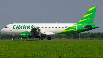 A picture of PKGLP - Airbus A320214 - Citilink - © Wilbert Tana