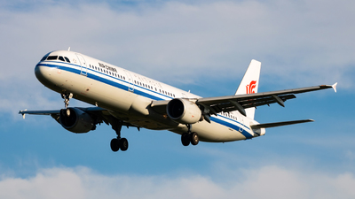 A picture of B6961 - Airbus A321213 - Air China - © Kerman_W