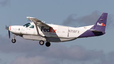 N718FX - Cessna 208B Super Cargomaster - FedEx Feeder (Baron Aviation Services)