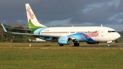 YJ-AV1 - Boeing 737-8Q8 - Air Vanuatu