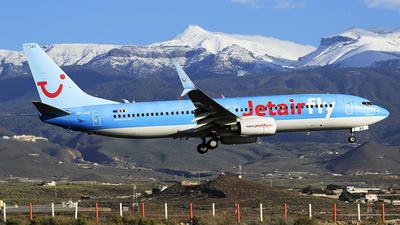 OO-JAX - Boeing 737-8K5 - Jetairfly