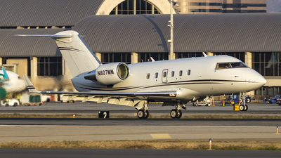 N807MM - Bombardier CL-600-2A12 Challenger 601 - Private