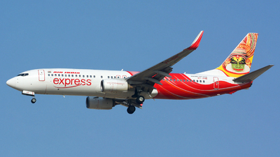 VT-GHE - Boeing 737-86N - Air India Express