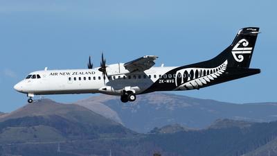 ZK-MVG - ATR 72-212A(600) - Air New Zealand Link (Air Nelson)