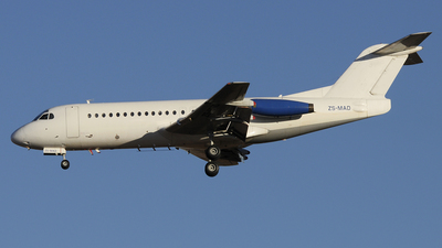 ZS-MAD - Fokker F28-4000 Fellowship - SkyLink Arabia