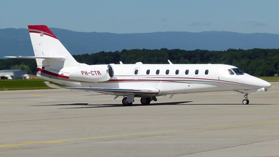 PH-CTR - Cessna 680 Citation Sovereign - Private