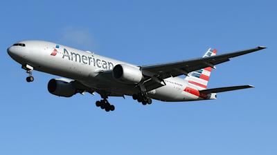 A picture of N772AN - Boeing 777223(ER) - American Airlines - © Tejas Khambhayta