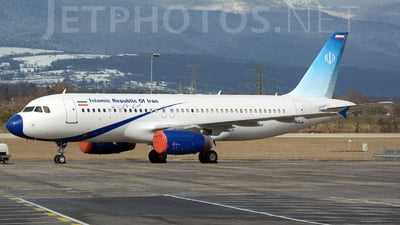 A picture of EPAJC - Airbus A320232 - Meraj Air - © jeremy denton