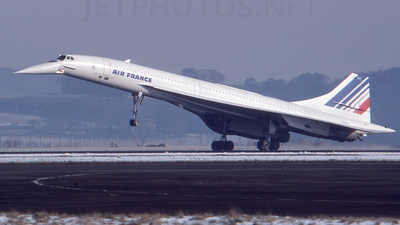 F-BVFC - Aérospatiale/British Aircraft Corporation Concorde - Air France