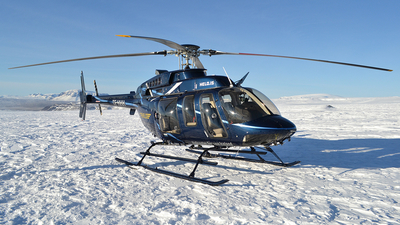 TF-HHH - Bell 407GX - Helo - Helicopter Service of Iceland