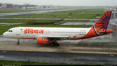 VT-ESA - Airbus A320-231 - Indian Airlines