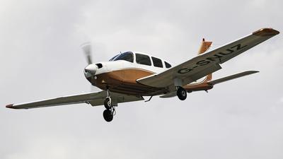 G-SNUZ - Piper PA-28-161 Warrior III - Private