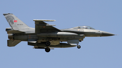 89-0028 - General Dynamics F-16CG Fighting Falcon - Turkey - Air Force