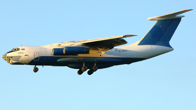 A picture of 4K78131 - Ilyushin IL76TD - Azerbaijan Airlines - © FlyPete