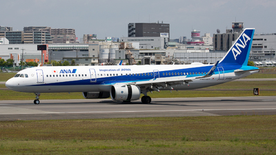 A picture of JA149A - Airbus A321272N - All Nippon Airways - © Tokubee