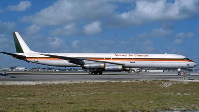N7043U - Douglas DC-8-63(F) - National Air Charters