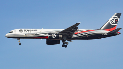 A picture of B2820 - Boeing 7572Z0(PCF) - SF Airlines - © iceland2000