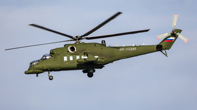 RF-13346 - Mil Mi-35MC Hind - Mil Design Bureau (Moscow Helicopter Plant)
