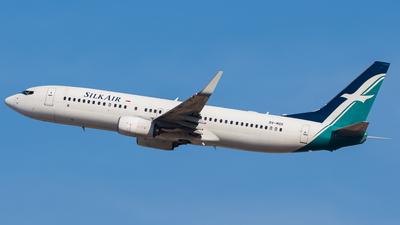 9V-MGK - Boeing 737-8SA - SilkAir