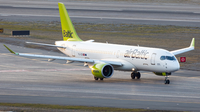 A picture of YLCSI - Airbus A220300 - Air Baltic - © UNNAMED