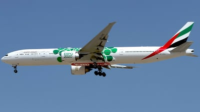 A6-EPU - Boeing 777-31HER - Emirates