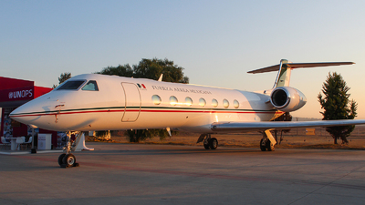 3916 - Gulfstream G550 - Mexico - Air Force