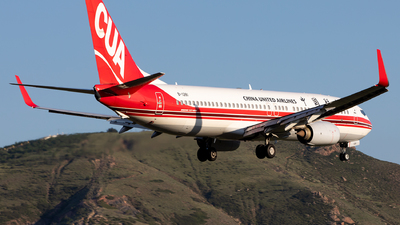A picture of B1281 - Boeing 73789P - China United Airlines - © Sweet Potato