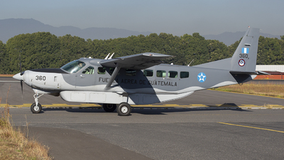360 - Cessna 208B Grand Caravan EX - Guatemala - Air Force