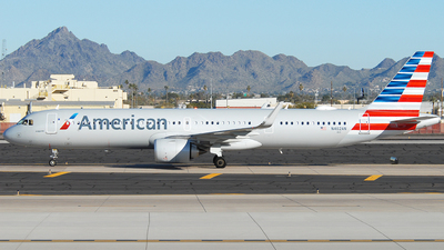 N402AN - Airbus A321-253NX - American Airlines