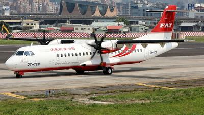 OY-YCM - ATR 72-212A(600) - Far Eastern Air Transport (FAT)