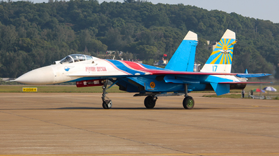 17 - Sukhoi Su-27P Flanker - Russia - Air Force
