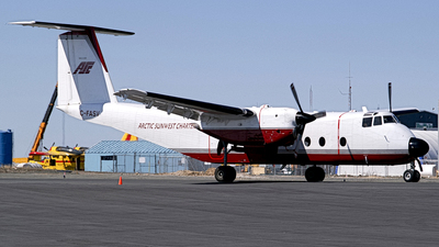 C-FASV - De Havilland Canada DHC-5 Buffalo - Arctic Sunwest Charter