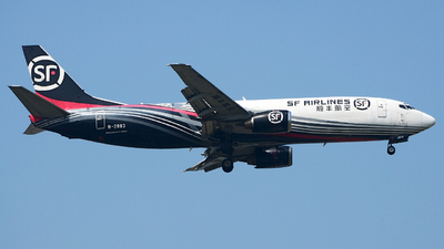 B-2883 - Boeing 737-4K5(SF) - SF Airlines