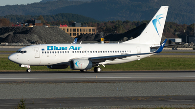 YR-BMA - Boeing 737-79P - Blue Air