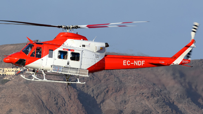 EC-NDF - Bell 412 - Pegasus Aviation