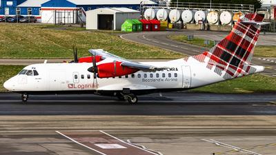 A picture of GLMRA - ATR 42500 - Loganair - © Bradley Bygrave