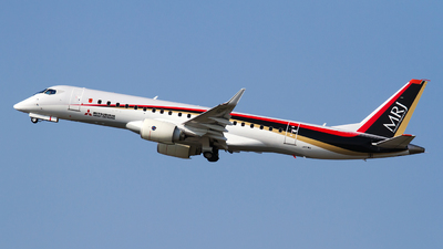 JA21MJ - Mitsubishi MRJ90STD - Mitsubishi Aircraft Corporation